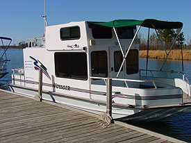 Voyager 25 Nomad Houseboats